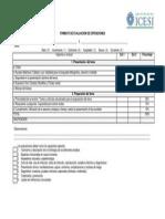 Formato Evaluacion Casos Clínicos, Seminarios y Exposiciones