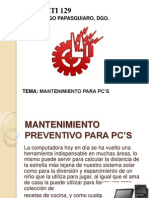 1 Mantenimiento PC