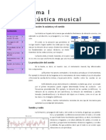 Tema 1 Acústica Musical