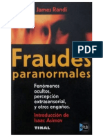 Randi James - Fraudes Paranormales