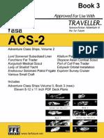 Traveller - FASA - Adventure Class Ships, Volume 2 - B3