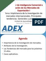 Sesión 3 - Importancia de la investigación de mercados internacionales. Principales tendencias. Generales y por sectores..pdf