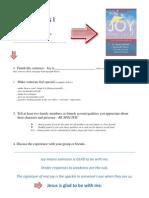 Joy Practices 1, Online