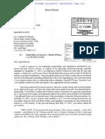 Dixie D'Souza's Letter to Judge