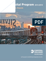 NY MTA 2015-2019 Capital Plan