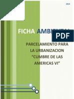Ficha Urbanizacion CUMBRE VI