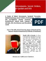 The Baatinee Movements, Secret Organizations, Freemasonry, Al-Ikhwaan, Al-Qaidah and ISIS