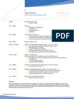 Dr. Youssef's Hernia Course Agenda