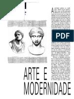 Arte e Modernidade