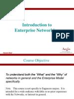 EnterPrise Networking Orientation