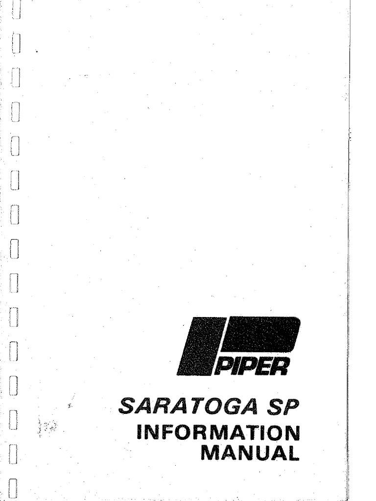 POH-Piper Saratoga P32R