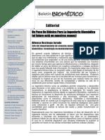Boletín Biomédico #8