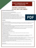 Manual de Usuario de Sistema de Informacion