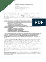 Economix, Tema 8- Producția Și Rezultatele Activității de Antreprenoriat