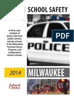 Milwaukee School Safety Report 2014