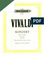 Vivaldi Violin Konzert RV 356