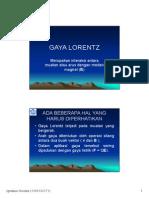 Bab 8 Gaya Lorentz