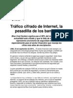 Tráfico cifrado de Internet