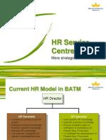 HR Service Centre Model