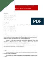 Regulamento Concurso de Ortografia
