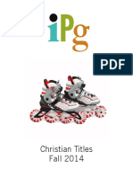 Fall 2014 IPG Christian Titles
