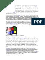 la primera versin de microsoft windows