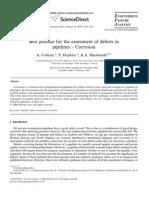 Evaluación corrosión Tuberías