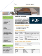 Ultrablast Nickel Slag Information