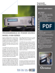 Chroma Programable Power Ac61600