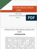 Arquitectura Neoclasica Lima