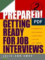 Beprepared Gettingdadwqedewreadyforjobinterviews2 131227130626 Phpapp01
