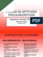 powerpointpruebaaptitudespsicolingsticas-120316084438-phpapp01