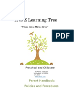 a to z learning tree parent handbook updated 9-11-14