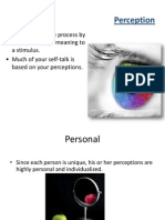Role of Perception in Effective Communication ppt