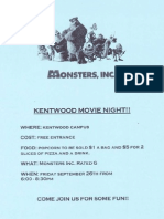 Kentwood Movie Night