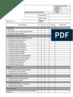 Lista de Chequeo Revision de Dossier