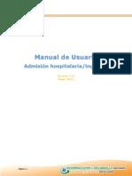 IHSS Manuales XHIS Admision Hospitalaria