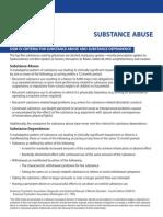 Substance b DSM IV