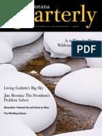 Jim Messina Montana Quarterly profile