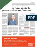 Entrevista a Jorge Navarro, Gerente de Ventas CHD-Marcas Propias