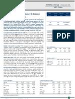 Manappuram General Finance & Leasing - Initiating Coverage 14Dec09