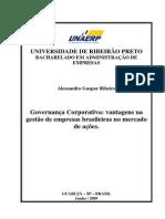 Governanca Corporativa Vantagens Na Gestao de Empresas Brasileiras No Mercado de Acoes