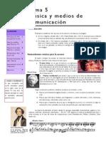 Tema 5 Música y Medios de Comunicación