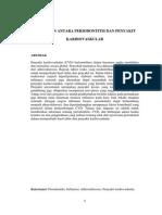 Hubungan Antara Periodontitis Dan Penyakit Kardiovaskular