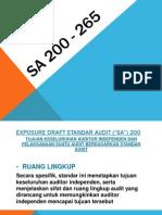 SA 200 - 265