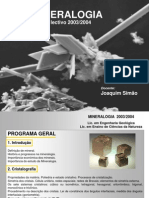 Mineralogia AULA1