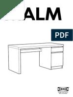 malm-desk Assembly