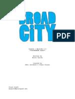 "Broad City Spec Script ""Tupperware Party"""