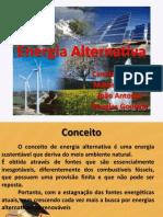 Energia Alternativa Trabalho