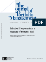 Paper Principal Components - JPM 2011